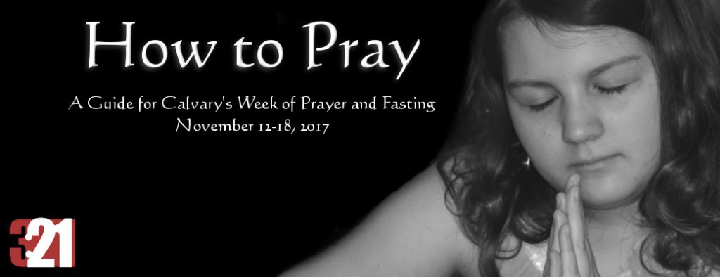 Week of Prayer Fasting November