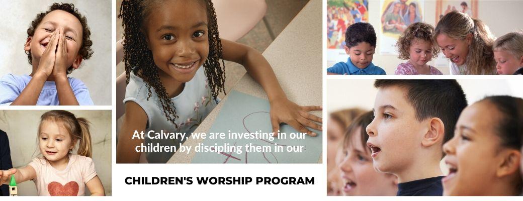 Children's Worship Program Slider
