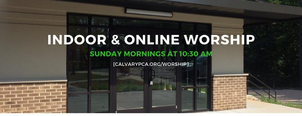 2021 Indoor and Online Worship Slider