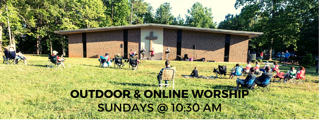 Outdoor & Online Worship Slider